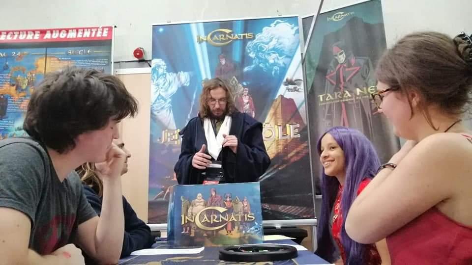 Iago, co-auteur du jeu de rôle inspiré de l'univers d'InCarnatis
